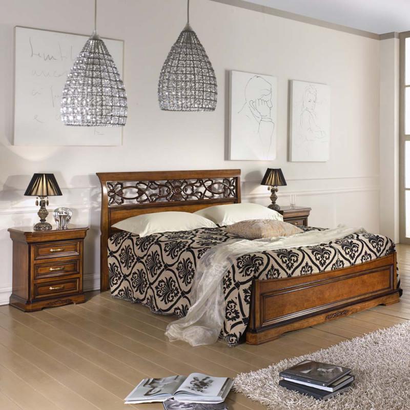Camera da letto armadio pannelli legno - Camera da letto legno ...