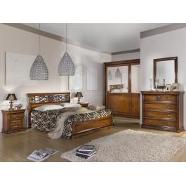 Camera da letto armadio con vetri