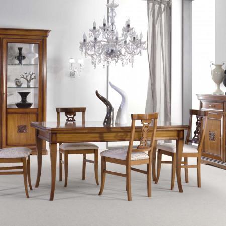 Tavolo rettangolare 170/250x90 gambe sciabola