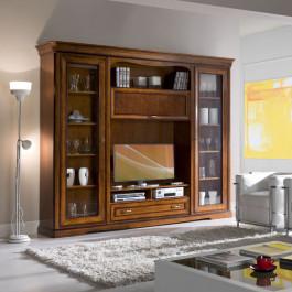 Soggiorno con porta tv e stereo