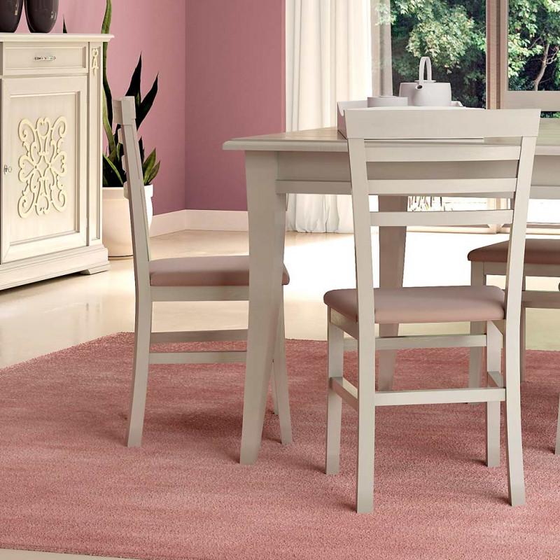 Sala da pranzo classica con tavolo quadrato - Tavolo da pranzo quadrato ...