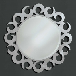 Specchiera rotonda specchio molato