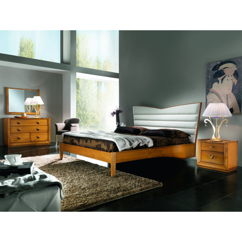 camera da letto in stile classico contemporaneo