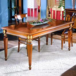 Tavolo con gambe a piramide fisso 170x90