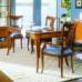 Sala da pranzo classica con gambe 700