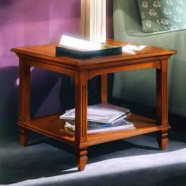 Tavolino quadrato piano filettato