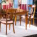 Sala da pranzo con 4 sedie 2 capotavola