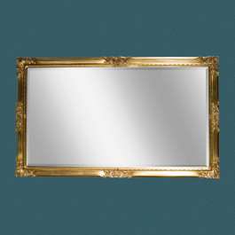Specchiera classica con cornice lavorata