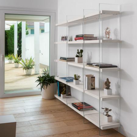 Composizione libreria 10 e 5 ripiani