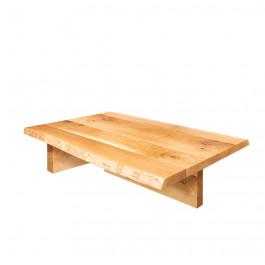 Tavolino con gambe in legno
