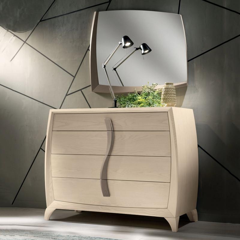 Camera da letto contemporanea in legno - Camera da letto contemporanea ...