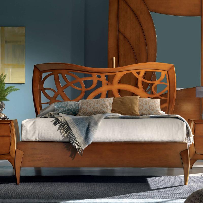 Camera da letto contemporanea in legno - Camera da letto legno ...