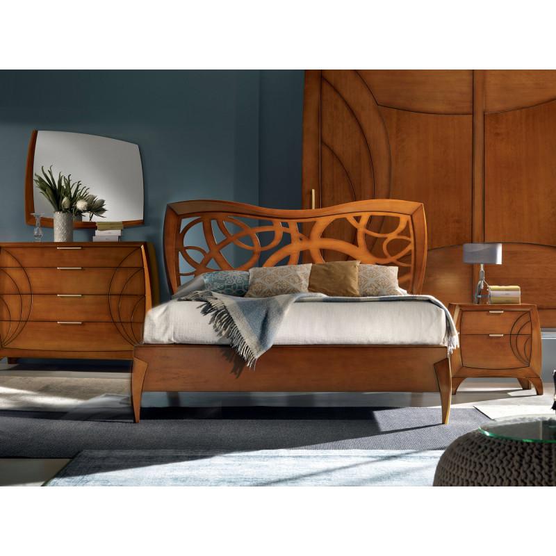 Camera da letto contemporanea in legno for Camera da letto legno