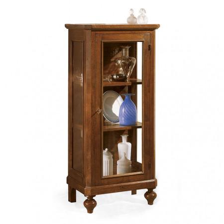 Vetrinetta classica in legno a 1 anta