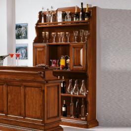 Mobile bar porta bottiglie solo retro