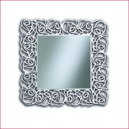 Specchio quadrato con trafori
