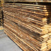 Vetrinetta classico in legno con 2 ante