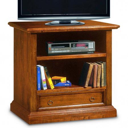 Porta tv con 1 cassetto e due vani a giorno