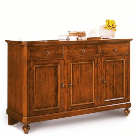 Credenza 3 ante  3 cassetti in legno massello