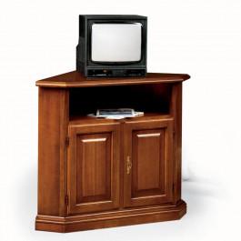 Angolo porta tv a 2 ante con bugne