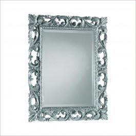 Specchiera con foglia argento