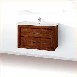 Mobile bagno con 2 cassetti