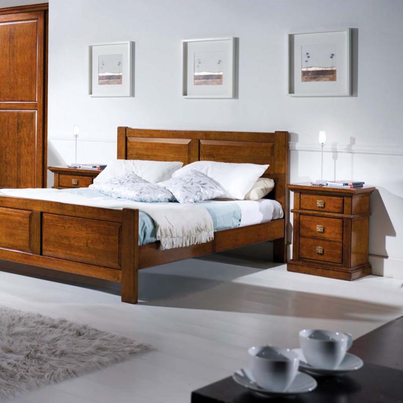 Camera classica da letto in legno - Camera letto classica ...