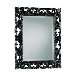 Specchiera laccata nero lucido