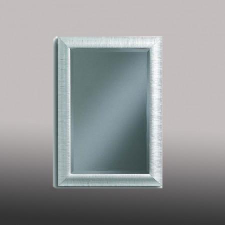 Specchiera bianca vetro molato