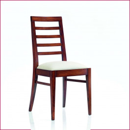 Sedia con 4 stecche imbottita