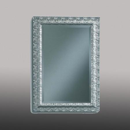 Specchiera argento con vetro molato