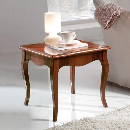 Tavolino intarsiato gambe 700