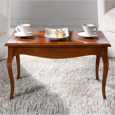 Tavolino sagomato intarsiato