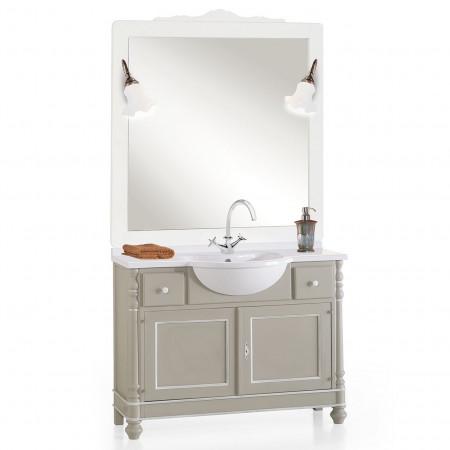 Bagno classico completo di specchiera