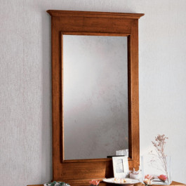 Specchiera classica lineare in legno