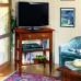 Porta tv con 2 cassetti in legno