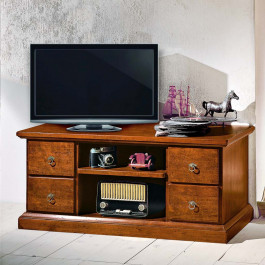 Cassapanca tv con 4 cassetti