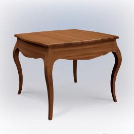 Tavolo quadrato sagomato allungabile centimetri 40