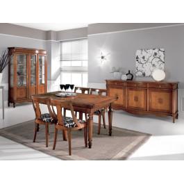 Sala da pranzo classica in legno
