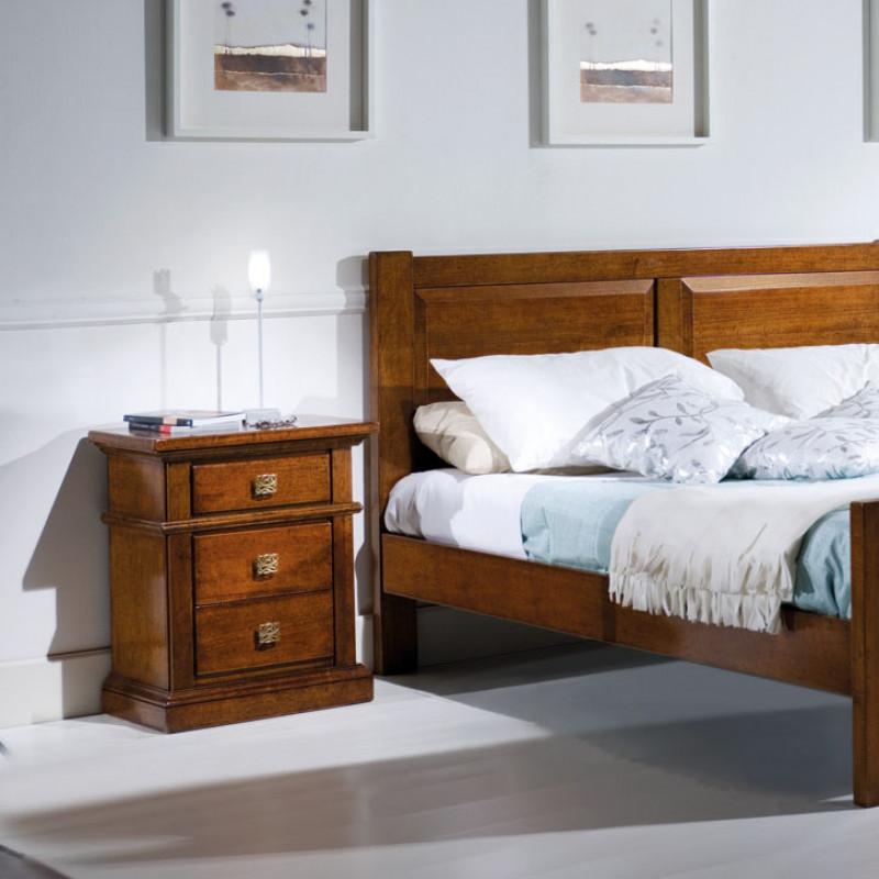 Camera classica da letto in legno - Camera da letto legno ...