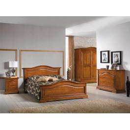 Camera da letto classica sagomata