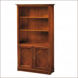 Libreria new classical 2 ante legno