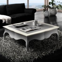Tavolino con grembiale sagomato