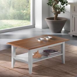 Tavolino rettangolare con pianetto