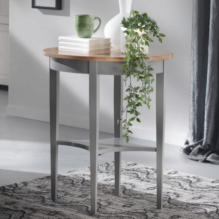 Tavolino ovale gambe spillo