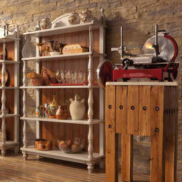 Etagere country con torniti
