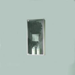 Visual box cm 40 per bagno anta vetro