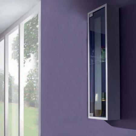 Visual box cm 20 per bagno anta vetro