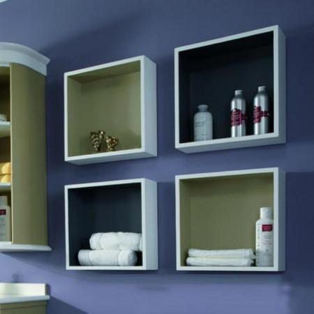 Visual box cm 40x40 a giorno per bagno