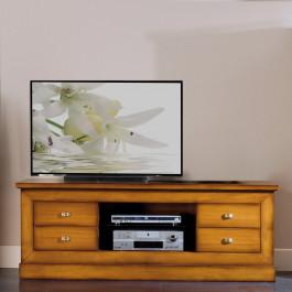 Porta tv con 4 cassetti e un vano a giorno